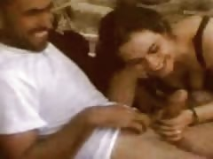 Arab sex outside