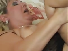 Horny chubby mature anal fucked
