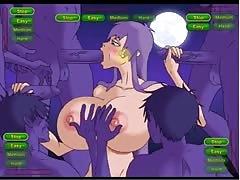 Hentai sex game Saeko Busujima gets fucked (HOTD)