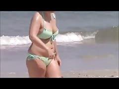 candid milf sexy beach spy 28 big jiggly tits