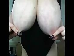 huge boobs playing