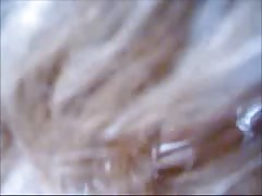 Turkish Blonde Sucking Clothed