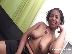 keisha rondellette black en gang bang