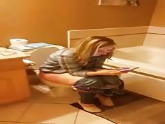 shy wife toilet