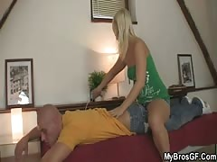 Sexy massage leads to fucking with his bro