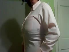 Shirt ripping!